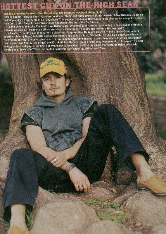 Media Watch: YM Magazine Talks Orlando Bloom in 'Pirates' - 568x800, 139kB