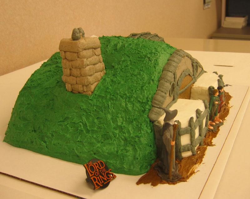 Hobbit Hole Cake - 800x638, 88kB