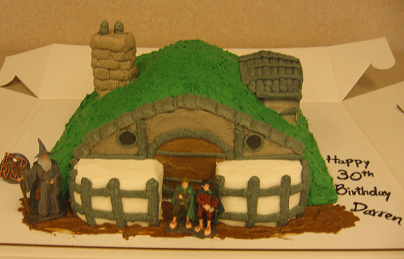 Hobbit Hole Cake - 800x513, 79kB