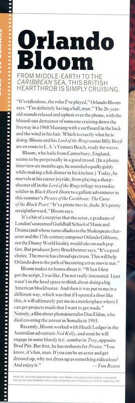 Media Watch: Orlando Bloom in Premiere Magazine - 269x800, 78kB