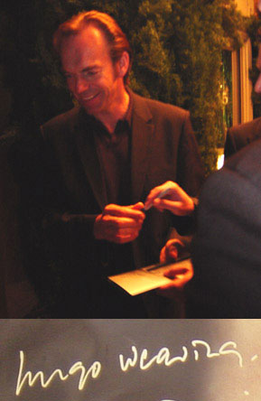 Hugo Weaving Attends the LA Matrix II Premiere - 289x444, 27kB