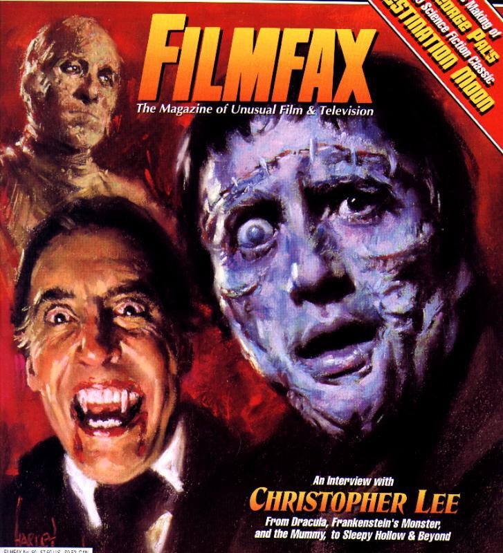 Chrisopher Lee on FilmFax Magazine - 727x800, 117kB