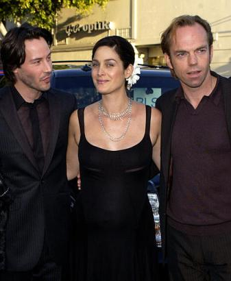 Hugo Weaving At The Matrix: Reloaded Premiere - 337x410, 20kB