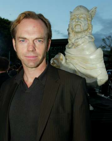 Hugo Weaving At The Matrix: Reloaded Premiere - 357x450, 13kB