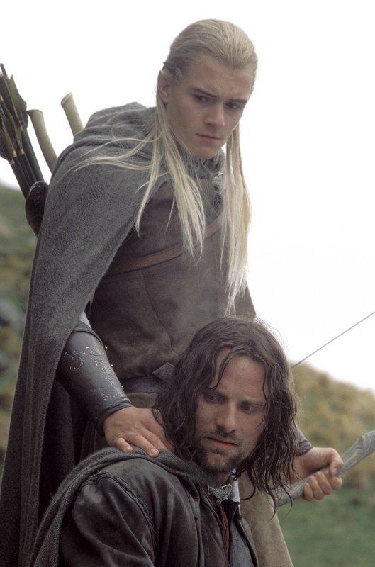 Legolas Tells Aragorn He Has Not Failed - 529x800, 73kB