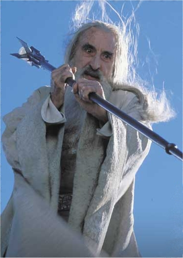 A Very Angry Saruman - 374x526, 101kB