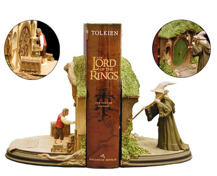 The Lord of the Rings Book and Bookends Gift Set - 696x566, 298kB