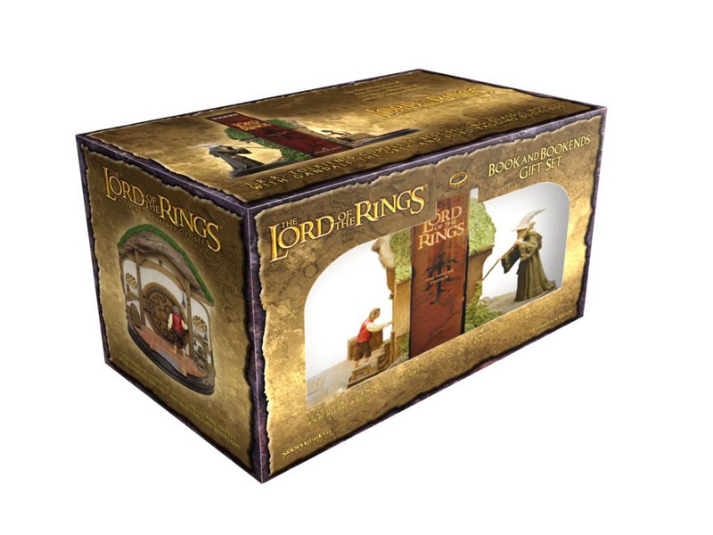 The Lord of the Rings Book and Bookends Gift Set - 800x600, 84kB