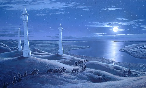 Ted Nasmith art in the 2004 Tolkien Calendar - 500x302, 42kB