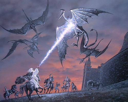Ted Nasmith art in the 2004 Tolkien Calendar - 500x396, 64kB