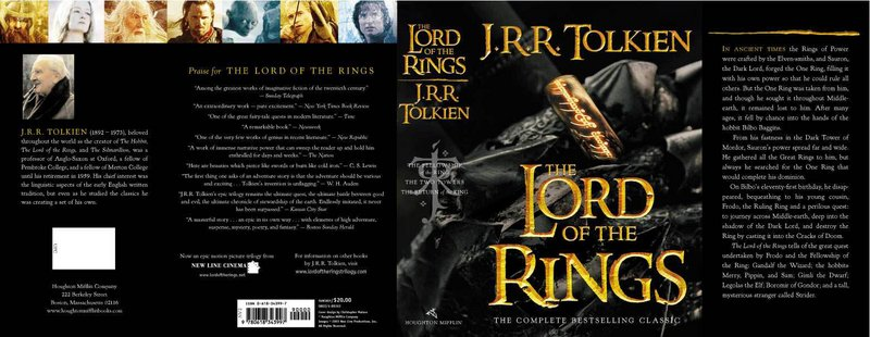 The Lord of the Rings Movie Edition Cover Sleeve - 800x310, 75kB