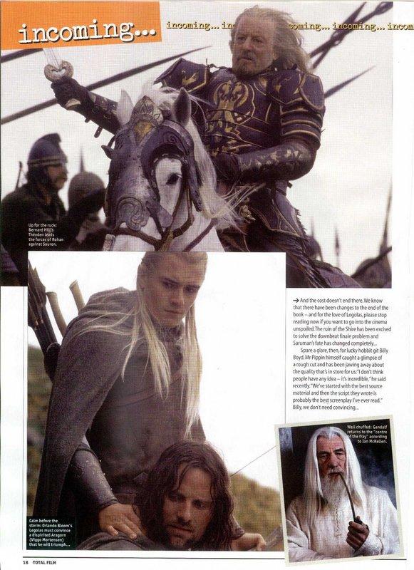 Media Watch: Total Film Magazine talks ROTK - 581x800, 107kB