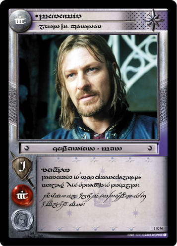 Boromir, Lord Of Gondor - 357x497, 75kB