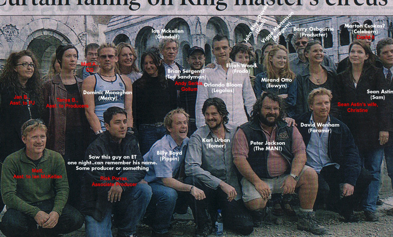 New Cast Picture from Minas Tirith Press Confrence - 800x483, 370kB