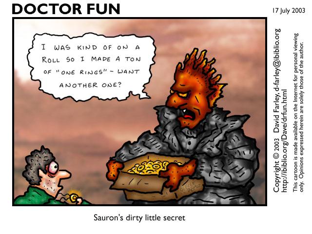Dr. Fun Goofs on Sauron - 640x480, 79kB