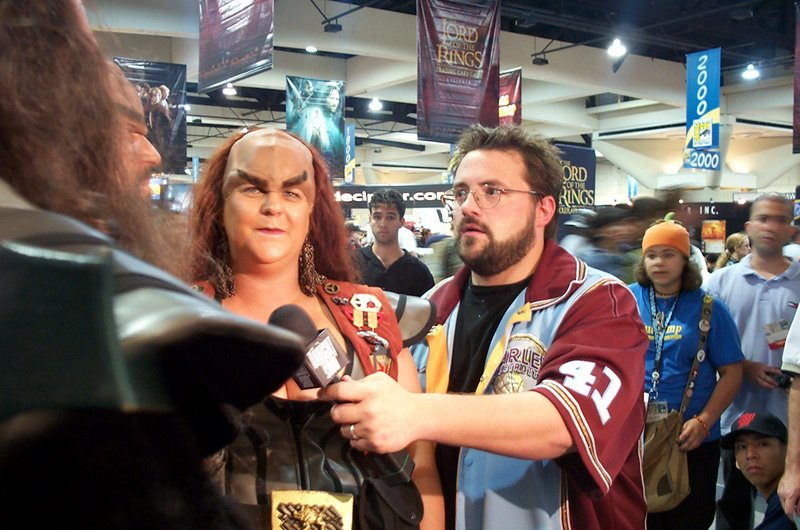 Kevin Smith and his Klingons - 800x530, 106kB