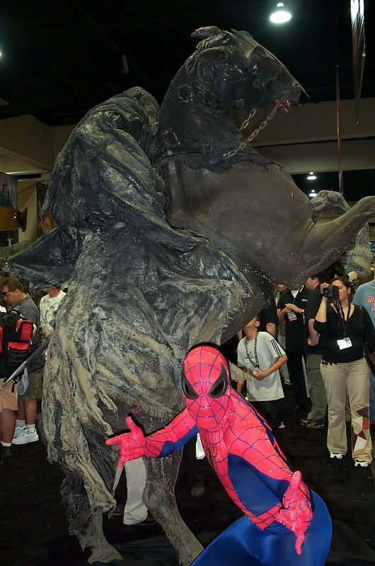 Spiderman vs. The Ringwraith - 530x800, 117kB