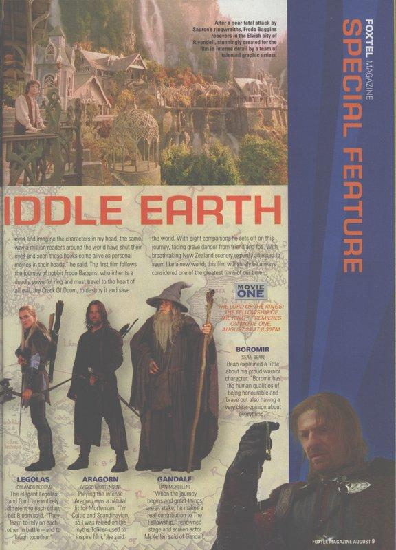 Foxtel Magazine Premieres FoTR - 576x800, 94kB