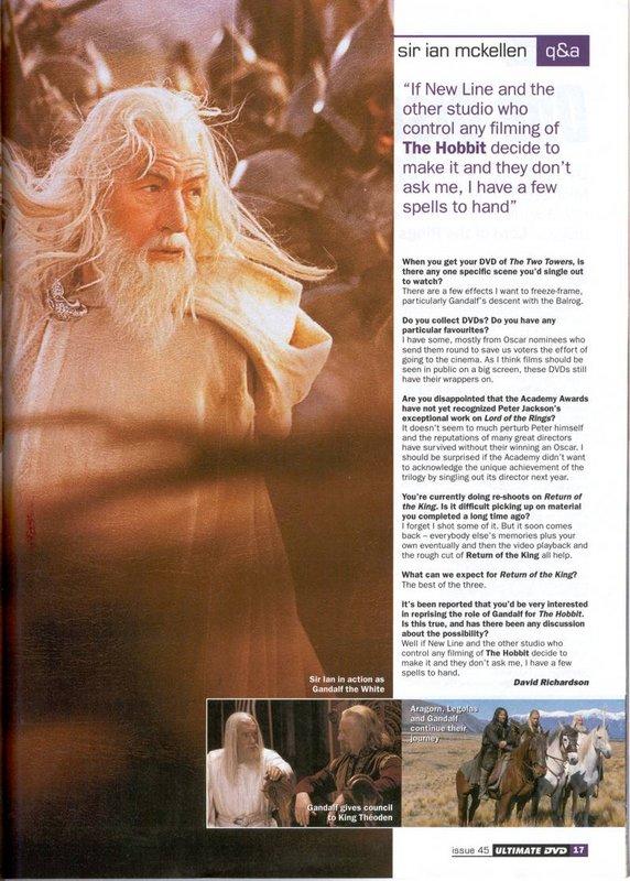 Ultimate DVD Magazine: Ian McKellen Interview - 572x800, 114kB