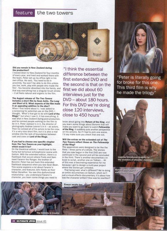 Media Watch: Ultimate DVD Magazine Talks TTT DVD - 581x800, 132kB