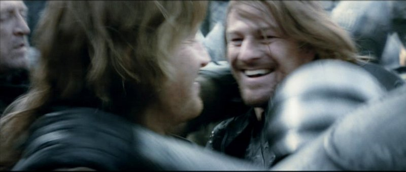 Boromir and Faramir - 800x340, 34kB