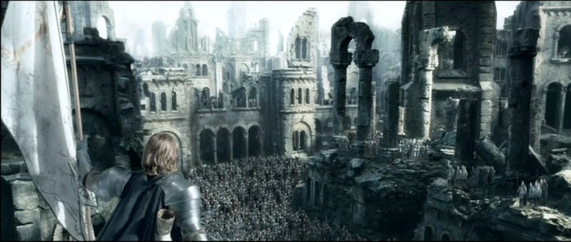 Boromir reclaims Osgiliath - 800x340, 63kB