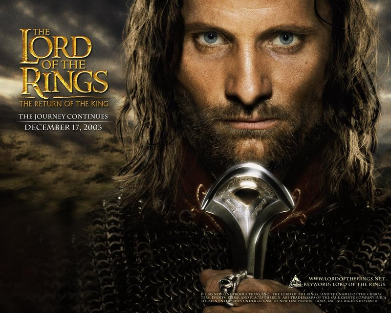 LoTR.net Aragorn Wallpaper - 800x640, 118kB