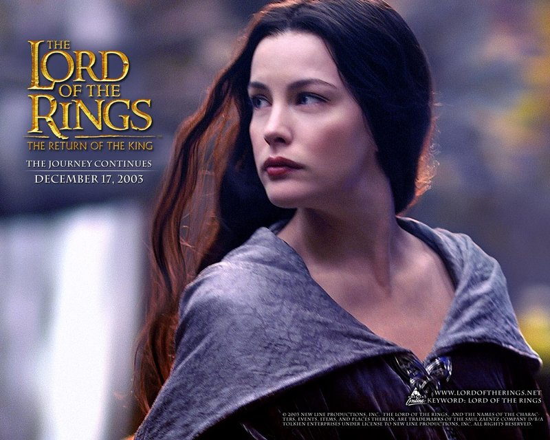 LoTR.net Arwen Wallpaper - 800x640, 107kB