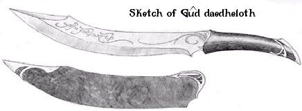 Aragorn's Elven Hunting Knife - Sketch - 436x160, 13kB