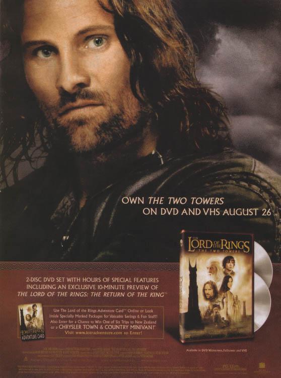Aragorn Towers DVD Ad - 558x750, 62kB