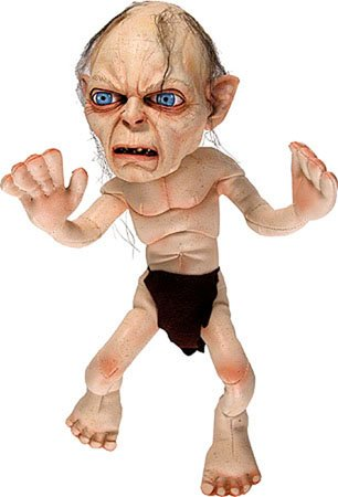 Gollum Plush Doll - 306x450, 21kB