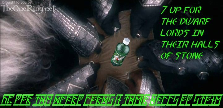7-Up in Middle-earth - 7-Up for the Dwarf Lords - 720x350, 59kB