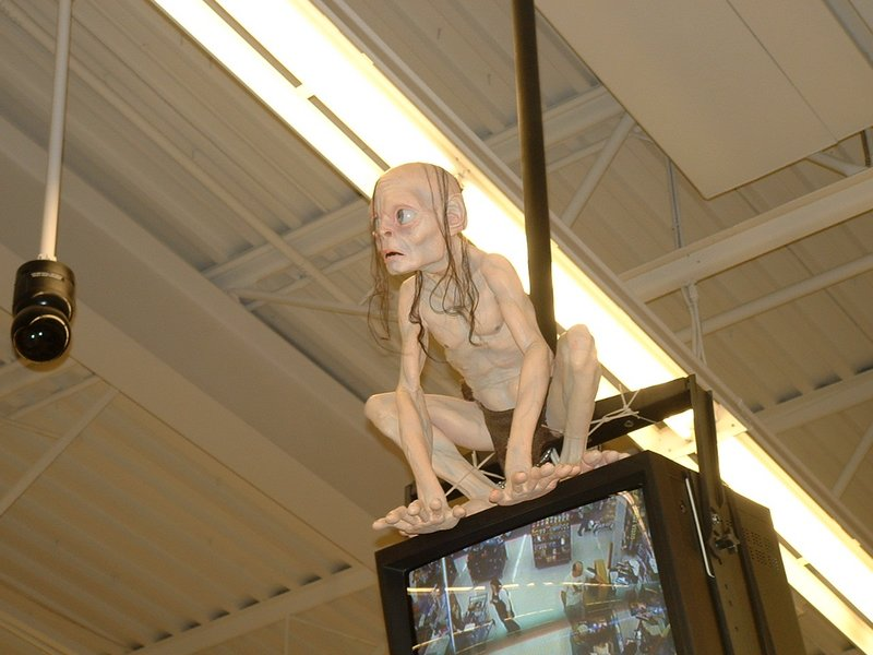 Gollum Spotted at Wal*Mart - 800x600, 84kB