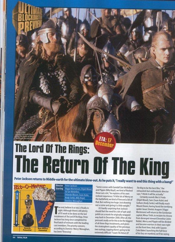 Media Watch: Total Film Magazine Talks ROTK - 581x800, 123kB