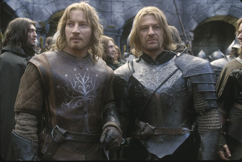Faramir And Boromir Share A Moment - 800x537, 79kB