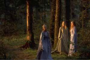 Galadriel and Maidens - 298x198, 14kB