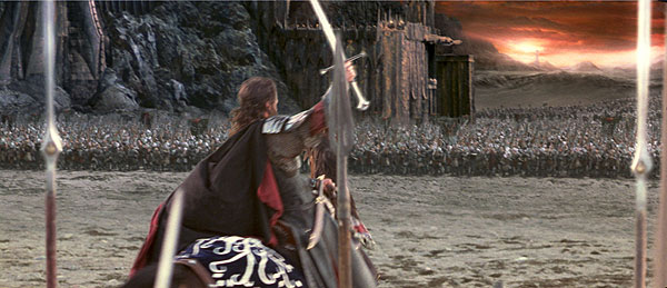 High Rez ROTK Trailer Stills - Aragorn Prepares for Battle - 600x259, 52kB