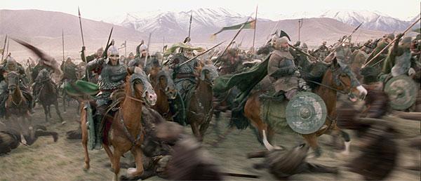High Rez ROTK Trailer Stills - To War! - 600x258, 45kB