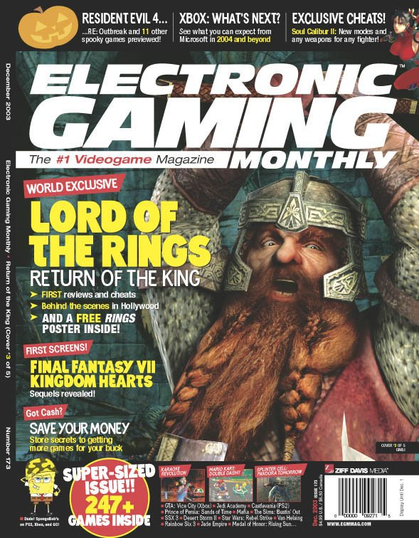 Media Watch: Special 5 Cover ROTK Issue of EGM - 589x756, 129kB