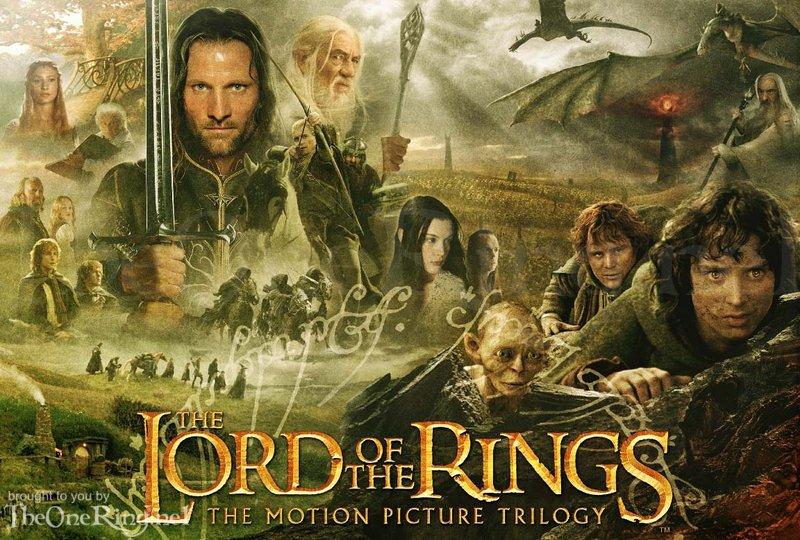 LOTR: The Motion Picture Trilogy Artwork! - 800x540, 143kB