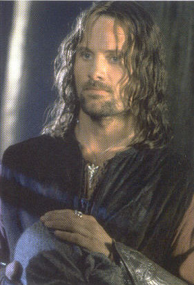 Aragorn holds the Palantir - 281x412, 32kB