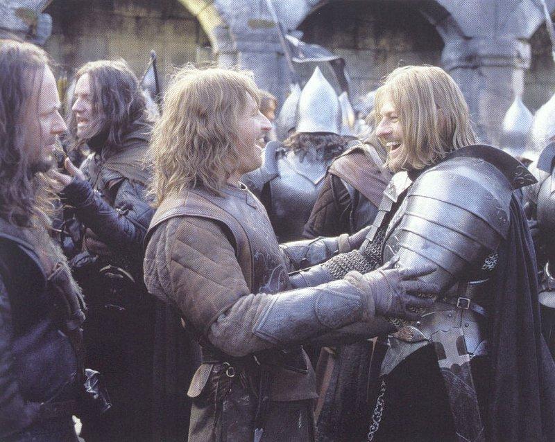 Boromir and Faramir in Osgiliath - 800x638, 122kB