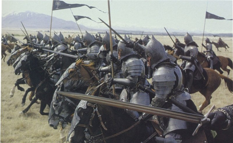 Charge of the Gondorians! - 800x492, 84kB