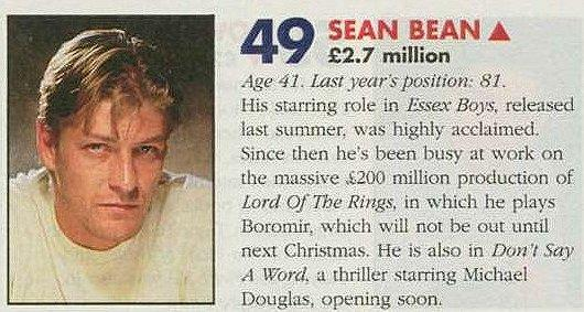 Sean Bean makes the List - 530x283, 44kB