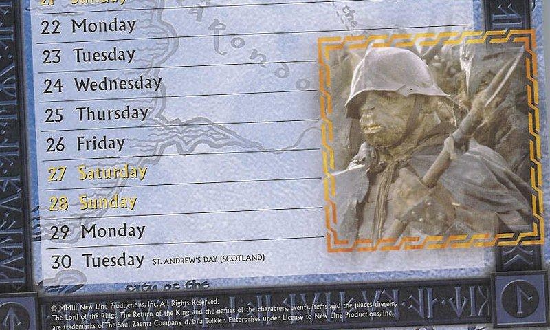 Slim ROTK Wall Calendar Images - 800x480, 115kB