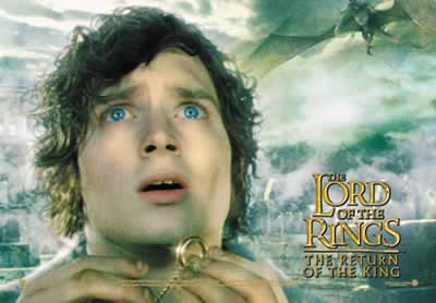 Frodo: Return of the King Postcards - 400x278, 14kB