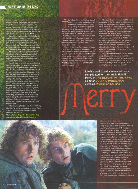 Dreamwatch Magazine: December 2003 - 582x800, 129kB