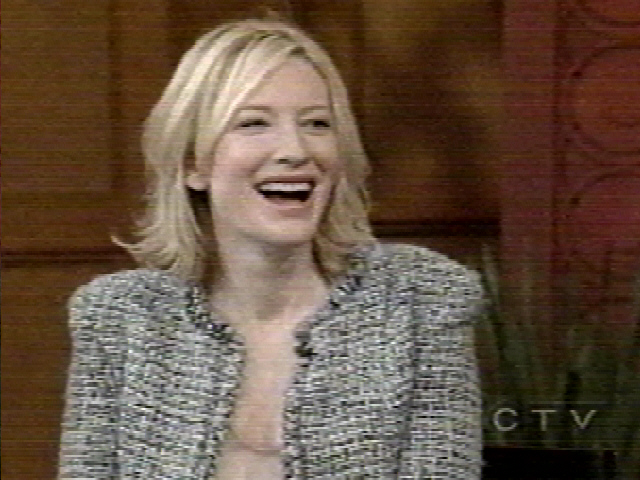 TV Watch: Cate Blanchett on Live! With Regis and Kelly - 640x480, 158kB