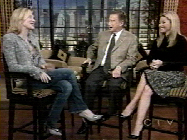 TV Watch: Cate Blanchett on Live! With Regis and Kelly - 640x480, 169kB