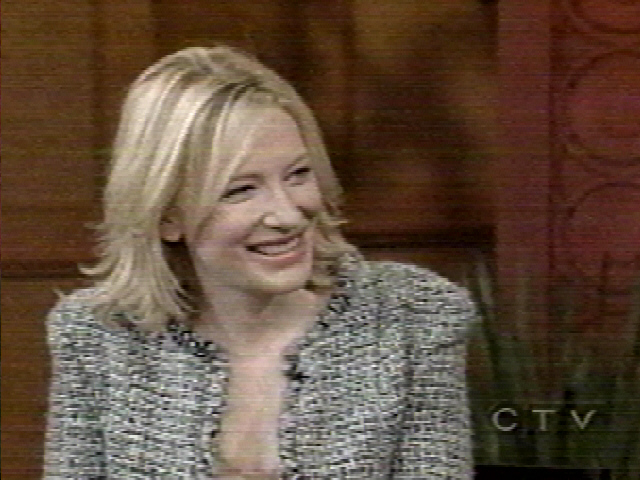 TV Watch: Cate Blanchett on Live! With Regis and Kelly - 640x480, 155kB